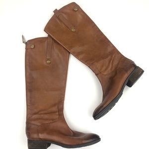 Sam Edelman Penny Riding Boots Size 8.5 Tan